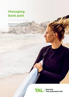 TAL Health Services Guide - Managing back pain