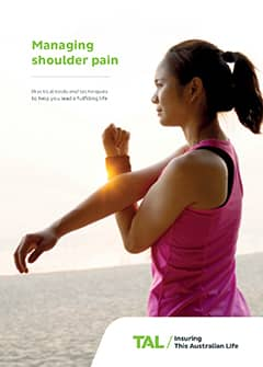 TAL Health Services Guide - Managing shoulder pain