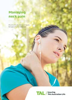 TAL Health Services Guide - Managing neck pain