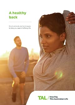 TAL Health Services Guide - A Healthy Back