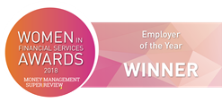 Women in Financial Services Employer of the Year Winner 2018