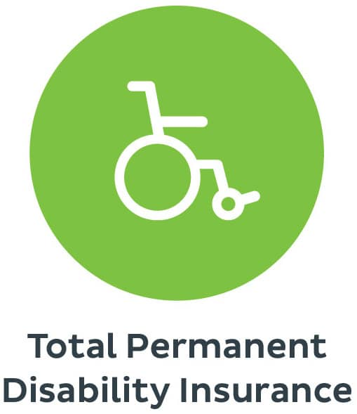 Total Permanent Disability Insurance logo