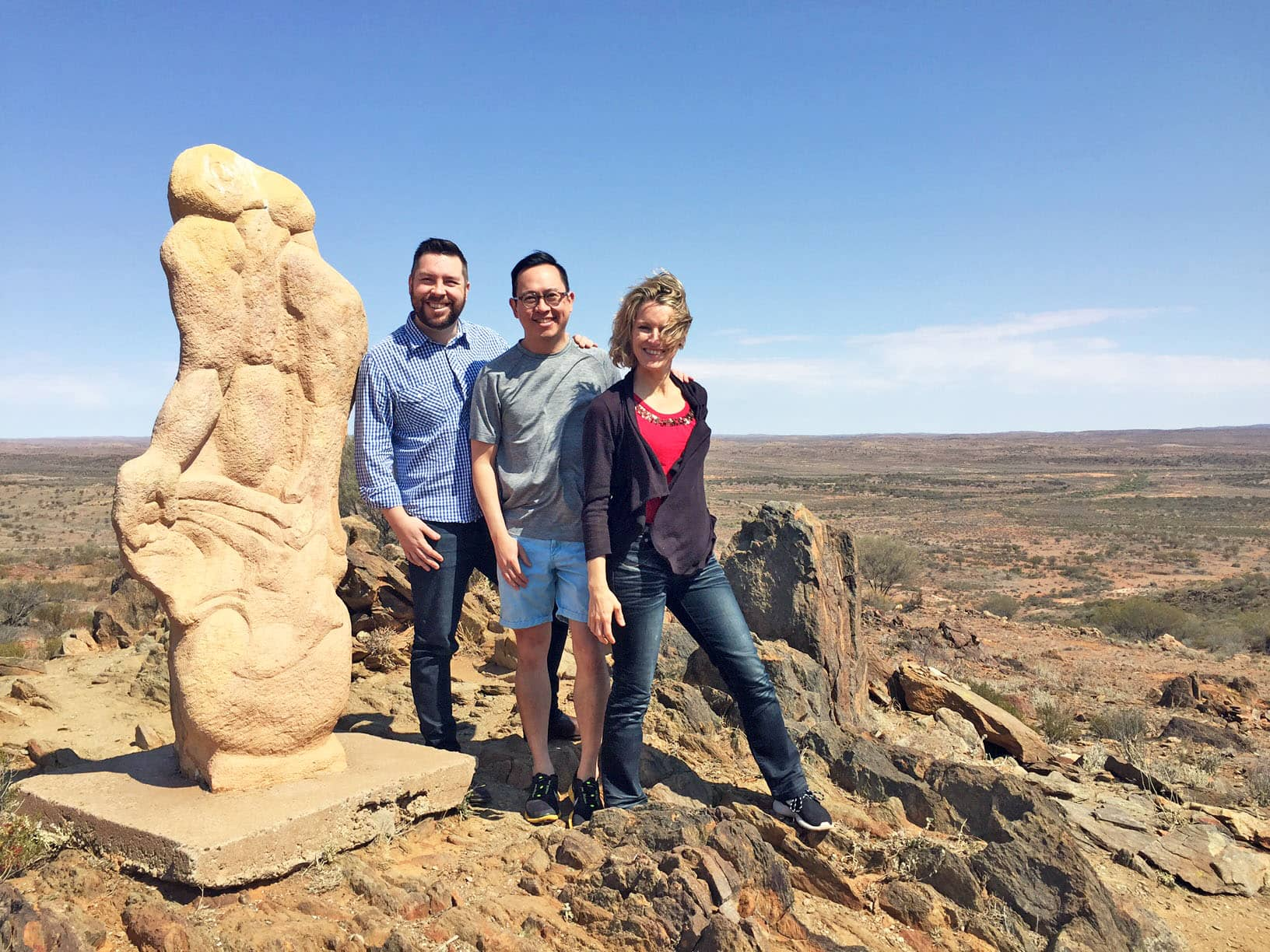 TAL staff in Broken Hill